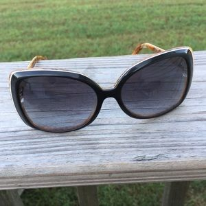 Gant Sunglasses Paquin Black with brown floral